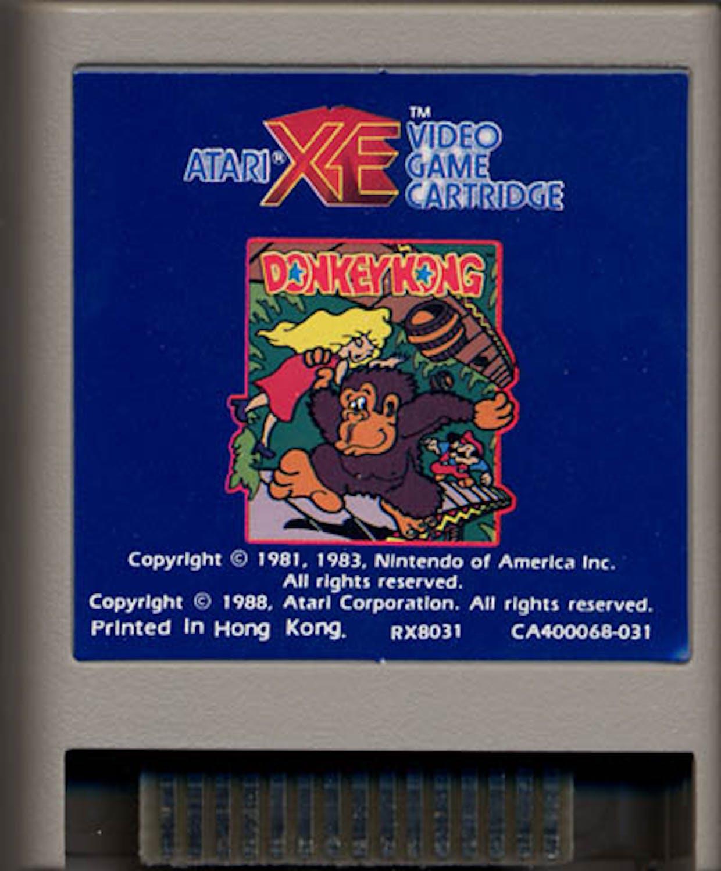 Image result for Donkey Kong XE atari