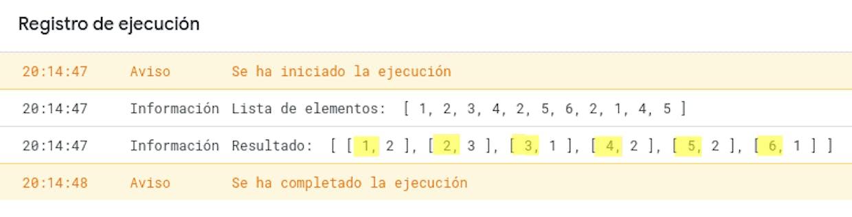 ¿Aguién sabe si en AppScript hay una manera de contar repeticiones en un array o en una lista?  De momento lo que consigo es hacer el conteo directamente en una HdC y luego referenciar la celda con la cuenta en una variable. Gracias