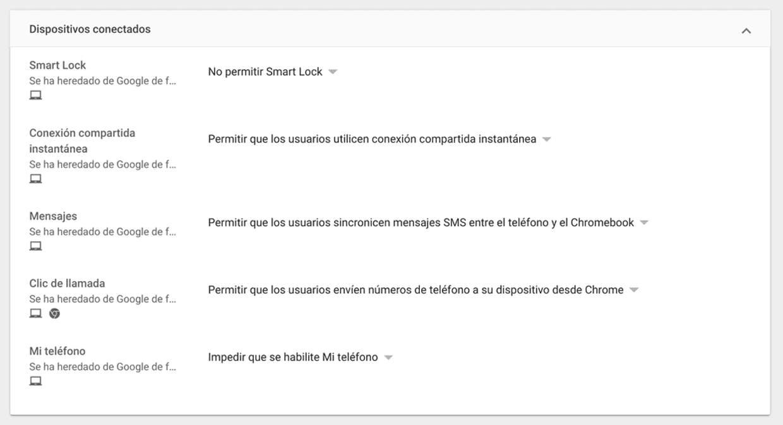 """Las opciones completas del """"Phone Hub"""""""