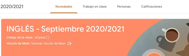 ¿Por qué en mi App de Classroom no aparece Novedades de Classroom? Creo que lo tengo todo actualizado y sin embargo me aparece así...