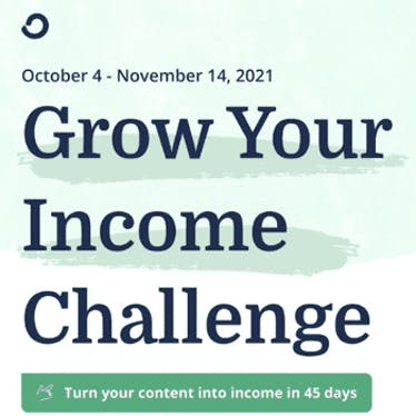 Grow Your Income Challenge
