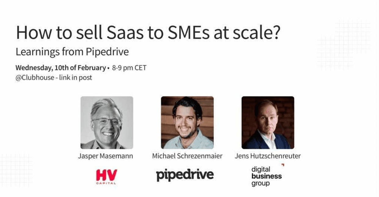 How do you sell into a SaaS market with numerous strong competitors?
