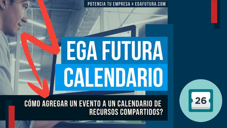 En un Calendario de Recursos compartidos como se agrega un Evento?