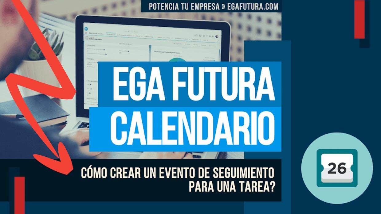 Se puede crear un evento de seguimiento para una tarea para poder verlo en mi calendario?