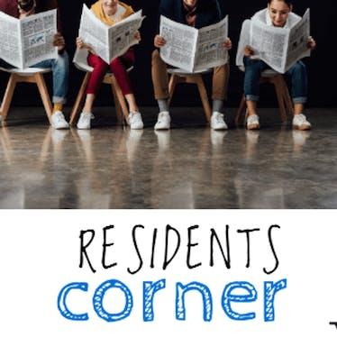 Residents corner