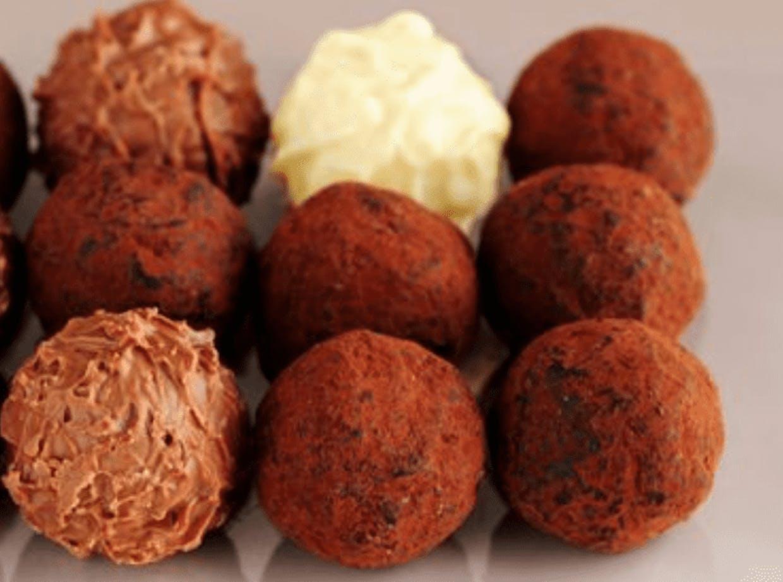 vegan sugarfree chocolate truffles recipe