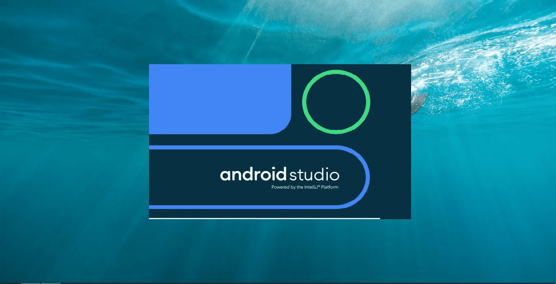 Android Studio ochilishi.