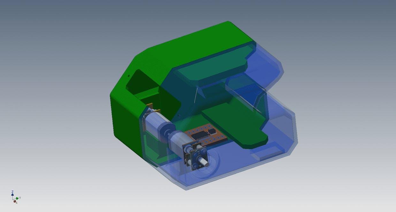 Improved housing for new motors.