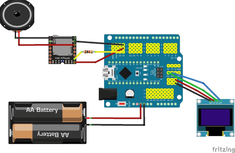 DFMini circuit (corrected)