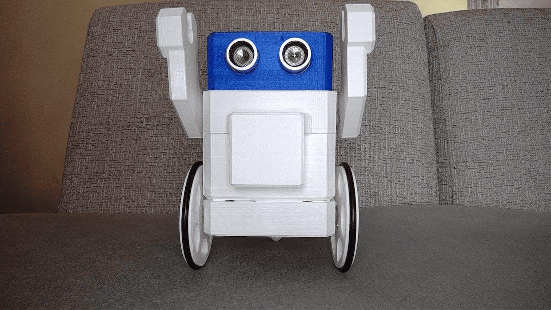 Wheels Battle Bot