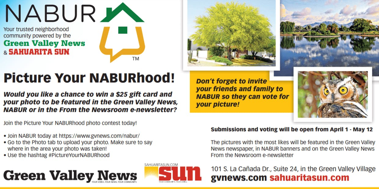 #PictureYourNABURhood competition information