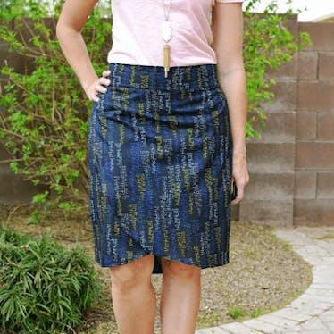 Emerson Wrap Skirt: A Beginner Friendly Skirt on 06-16