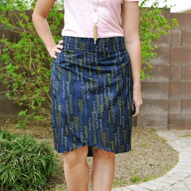 Emerson Wrap Skirt: A Beginner Friendly Skirt on 06-02