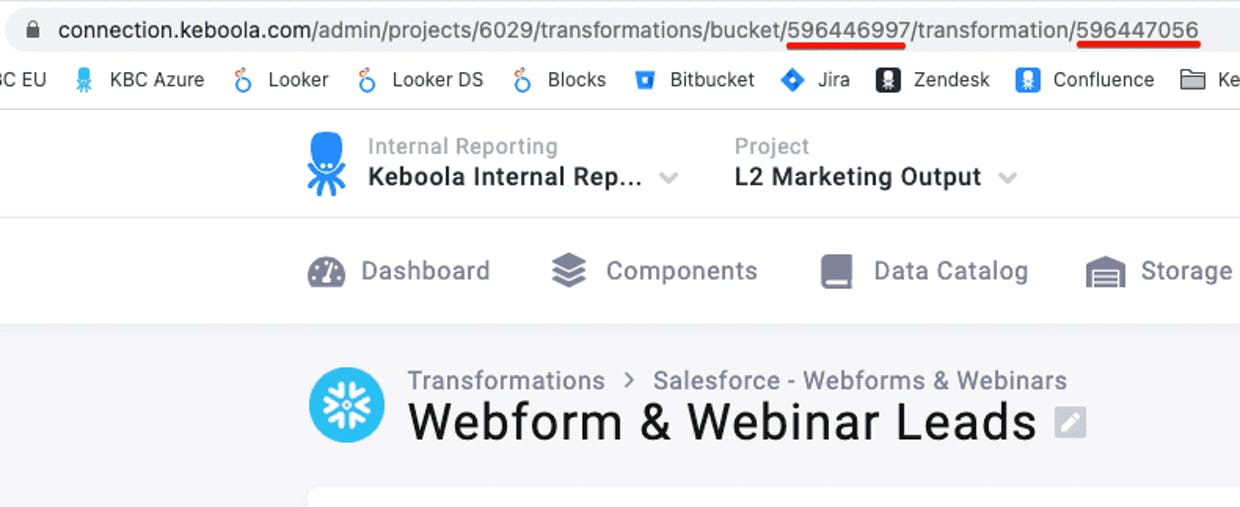How can I use orchestration tasks? Furthermore, can I set only one transformation from the transformation bucket?
