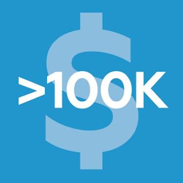 Клуб USD >100K