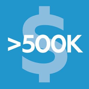 Клуб USD >500K