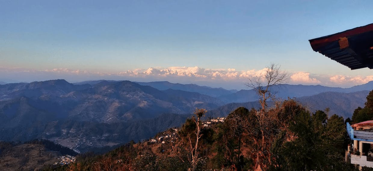 When I woke up to the Himalayas every day in Kasar Devi, Uttarakhand