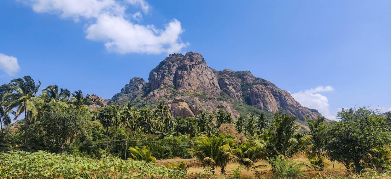 Marunthuvazh Malai- photo from Kanyakumari -Nagercoil highway