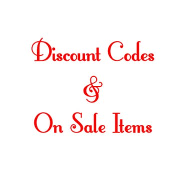 Discount Codes & On Sale