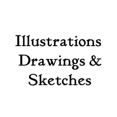 Illustrations, Drawing & Sketches