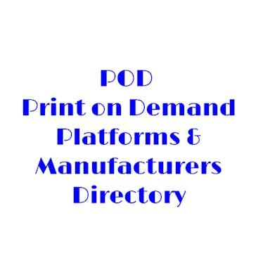 POD E-commerce Directory