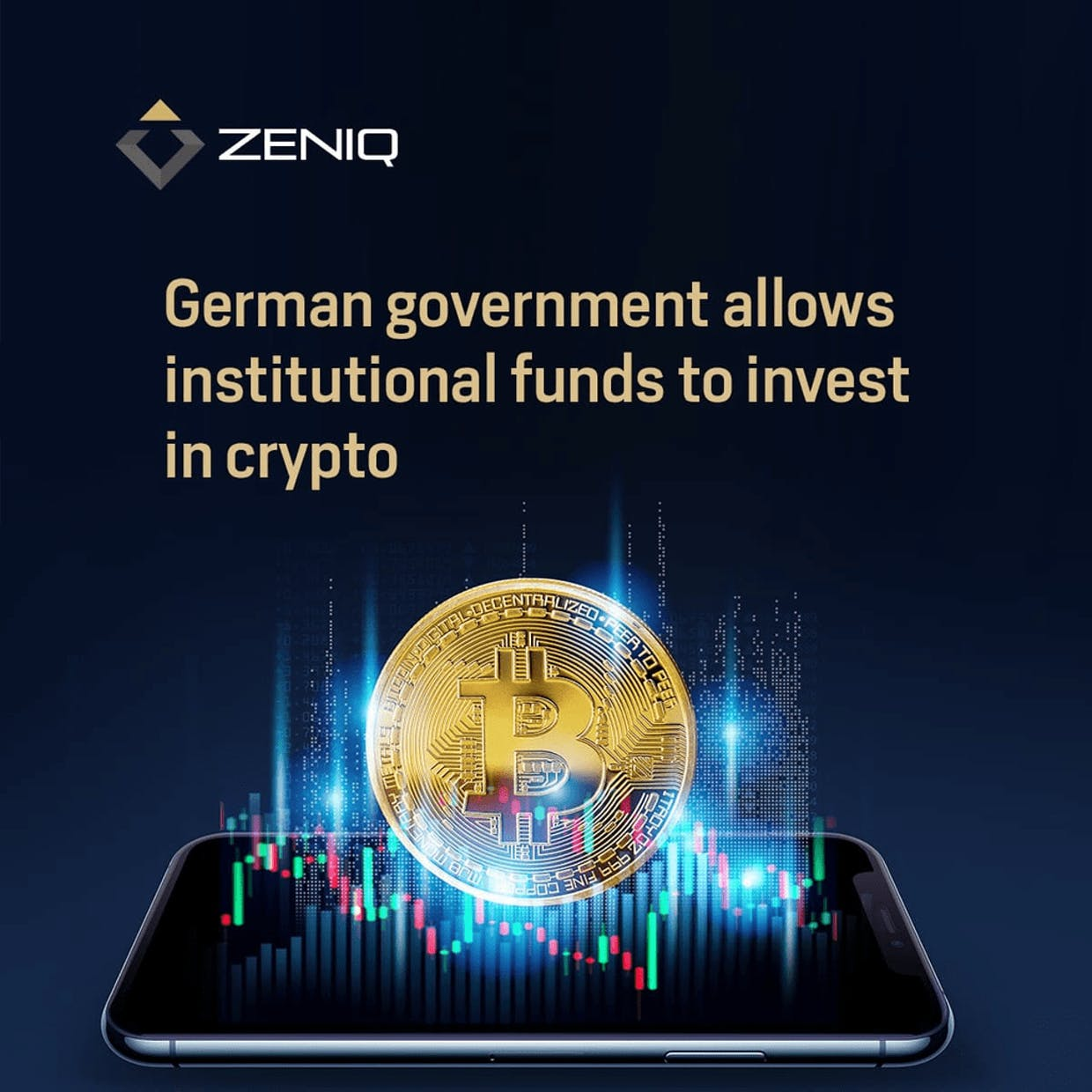 German government has now allowed institutional funds to invest in crypto.Crypto is finding its way into more and more areas. Even the German government has now allowed institutional funds to invest in crypto.