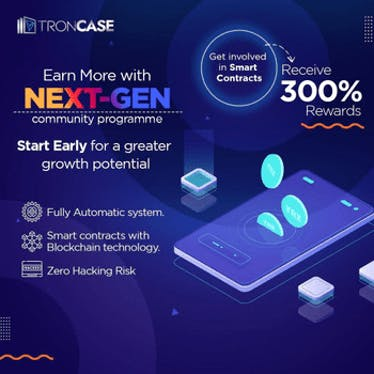 TronCase - Earn TRX Every 4 Seconds