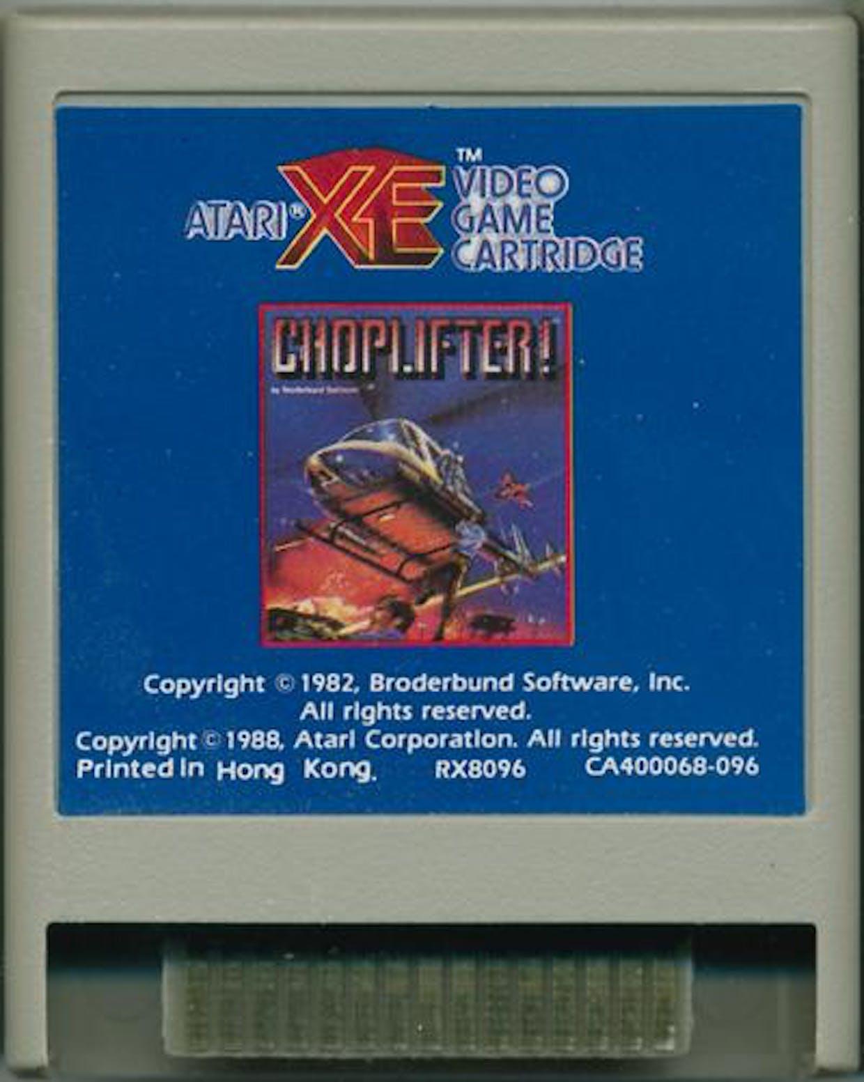 Image result for Choplifter XE atari