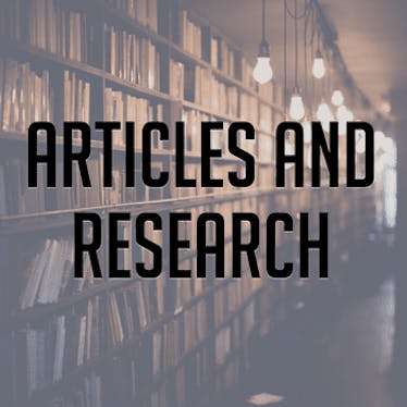 Articles and Research