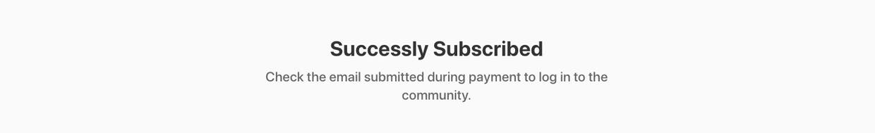 Did anyone manage to create a subscription-based membership community with Tribe and Stripe?