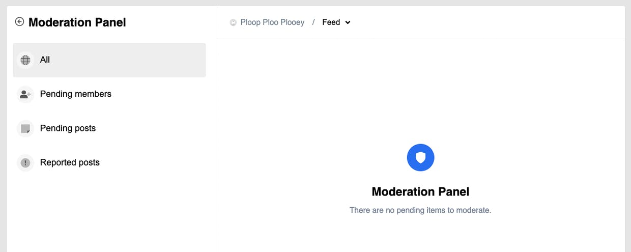 """What is the """"Moderation"""" section under my avatar and how it works?"""