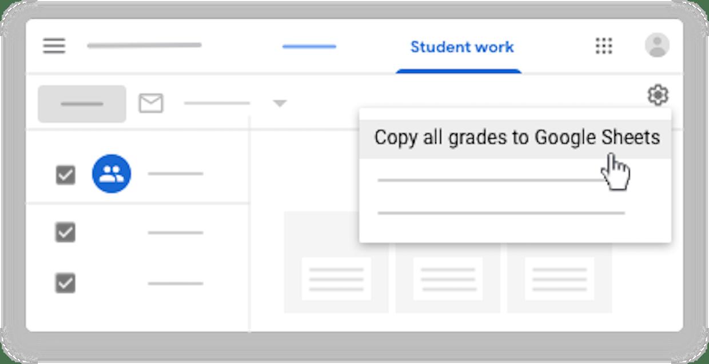 Una pregunta ràpida, hi ha manera de posar nota a tasques de classroom i que les puguis descarregar sense retornar les tasques? EM van bé per mi les notes, però no em cal que els alumnes les coneguin. Gràcies!
