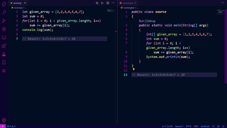 Javascript এবং Java এর মধ্যে পার্থক্য কি?