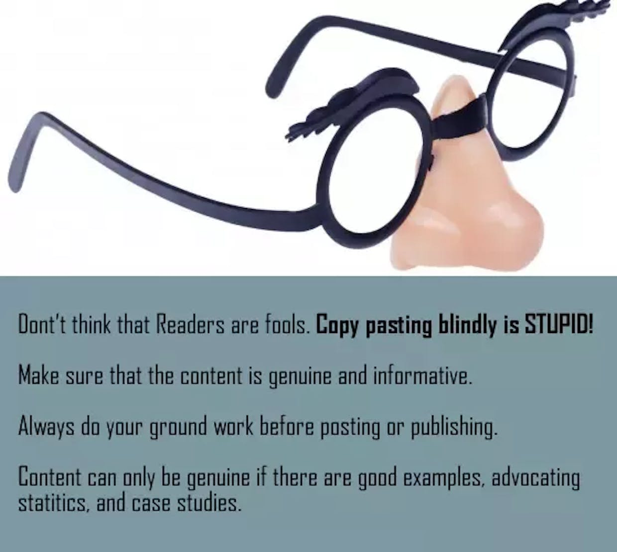 What are some common beginner mistakes in content marketing?