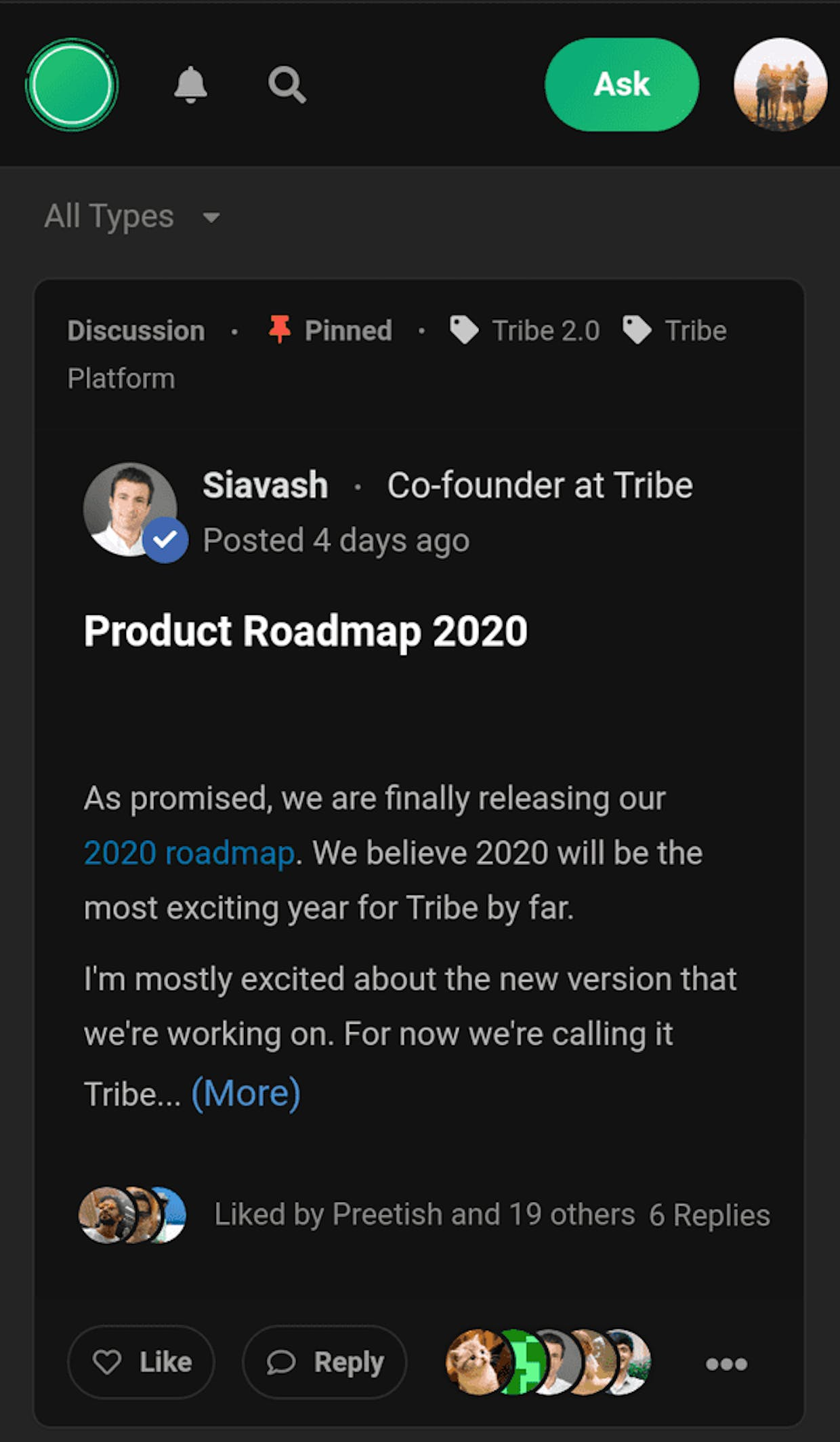 Dark mode is coming ... can't wait for it 😊😊