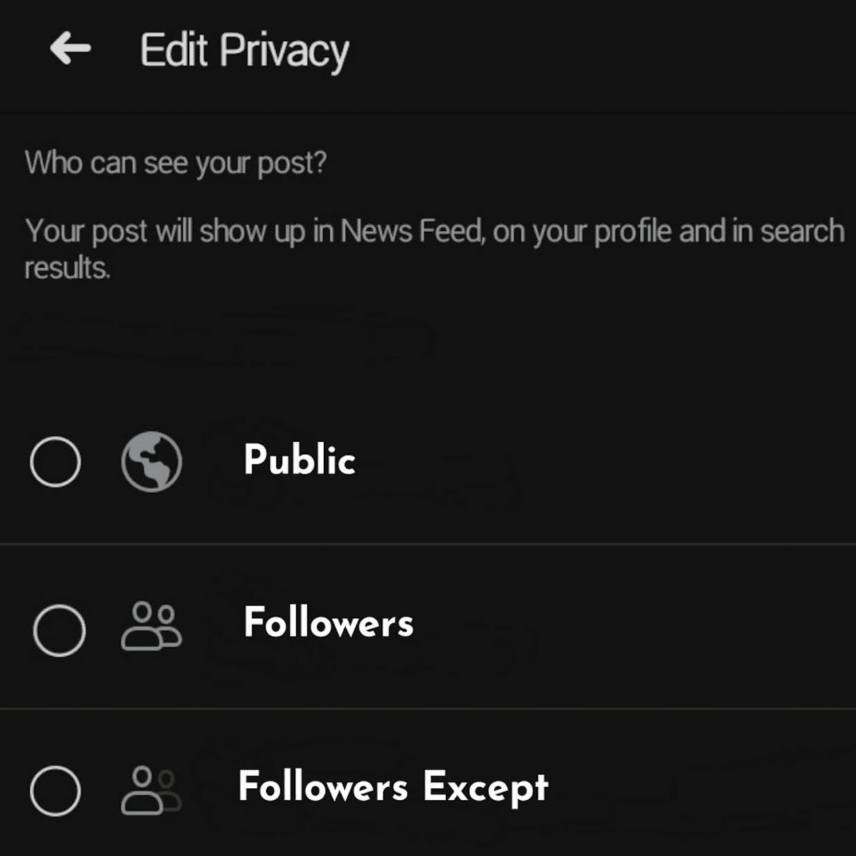 Post Privacy