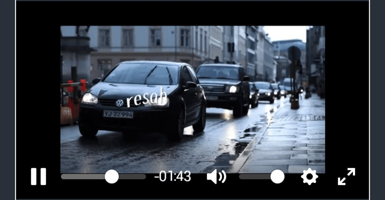 Why when changing video quality, the size of the image becomes smaller like this? why not just change the quality.