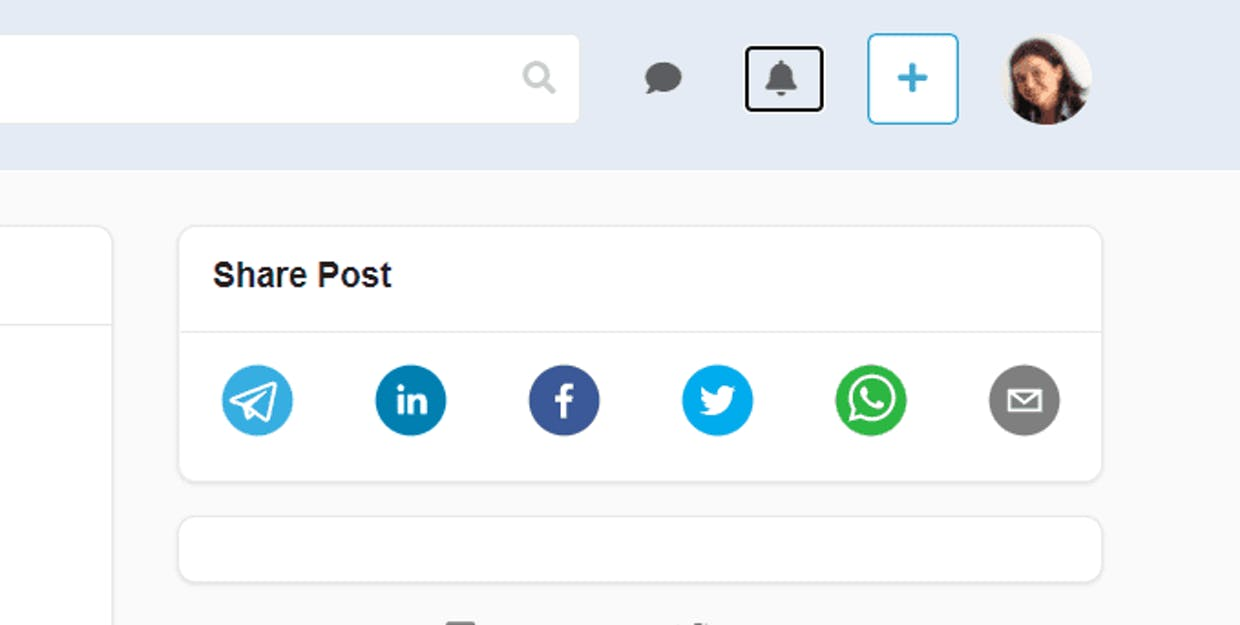 Can you add the possibility to share a post on LinkedIn? The Twitter, What'sApp and Facebook options are nice but LinkedIn would be more useful for the professional world.