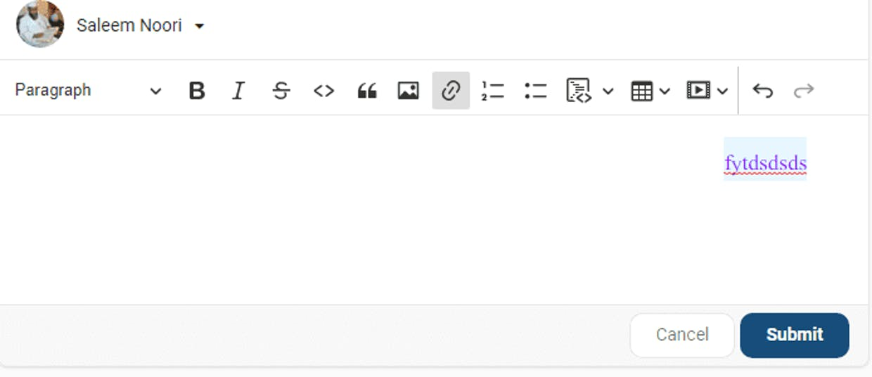 If I want to mark a text f.e for a link the text toolbar does not appear. Where do I find them?