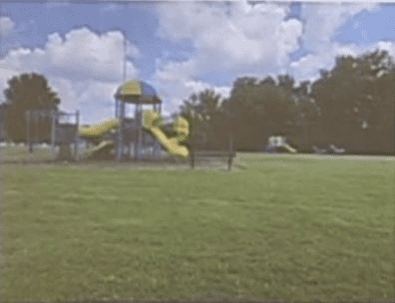 Existing Highview Hills Park Playground Equipment