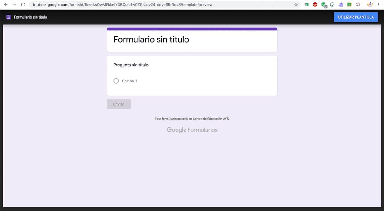 Hola buenos días, tengo una duda sobre los formularios google. Me gustaría compartir un formulario creado con google forms com mi claustro, de manera que les obligara a hacerse una copia (acabar el link con copy), pero no me funciona... hay alguna otra manera de hacerlo? Muchas gracias