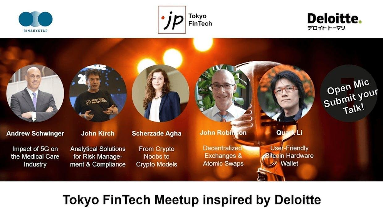 Open Mic - Tokyo FinTech