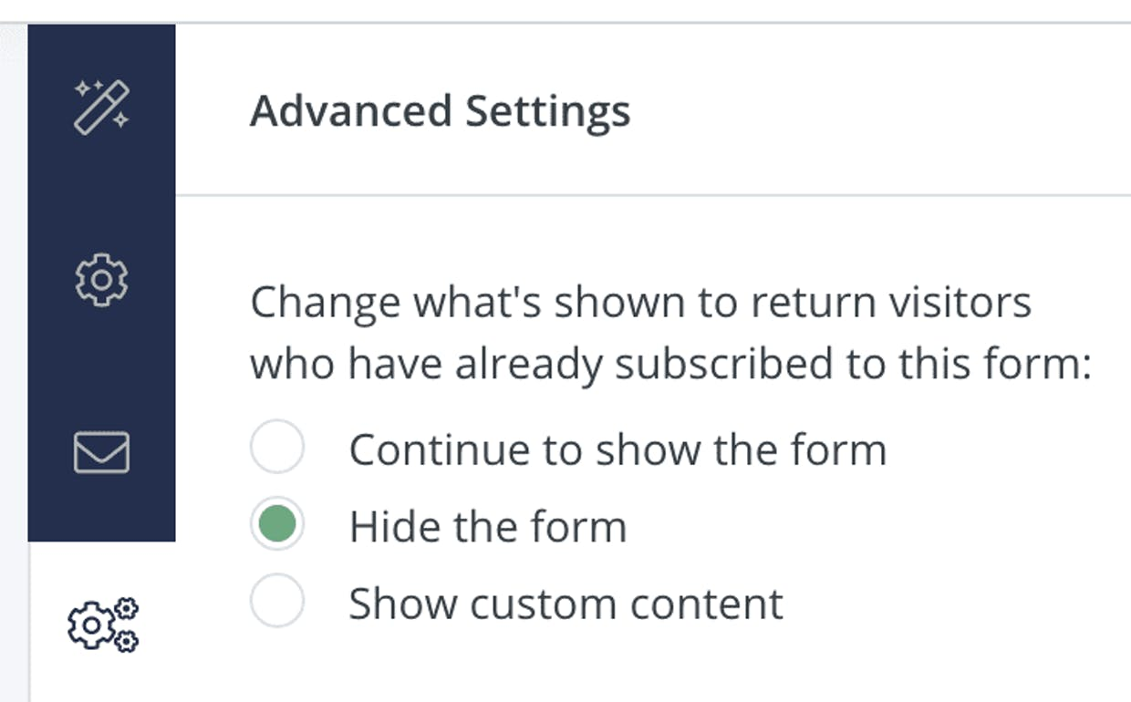 Howdy! I'm wondering if there's a way to have your popup only show up on certain pages (or more importantly, how to have it NOT show up on content pages they've already opted in for -- or a different sales landing page, etc). [I'm using the convertKit plugin for Wordpress] Thanks!
