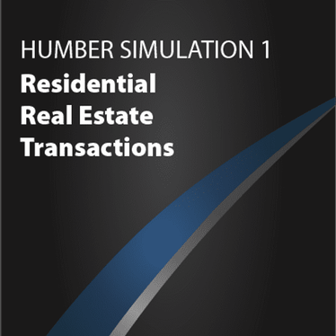 Simulation 1: Residential Real Estate Transactions