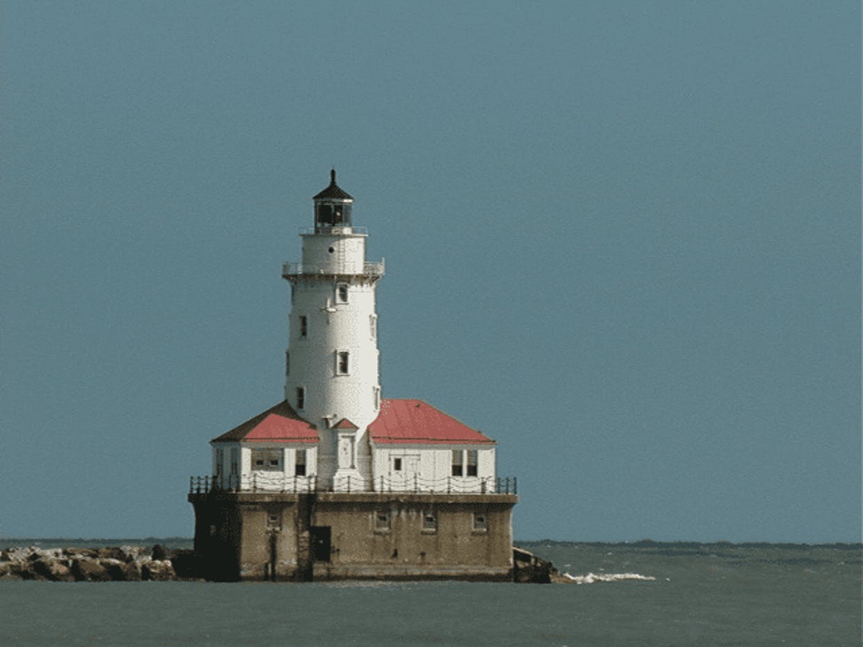 My favorite Chicago Lighthouse (just off Navy Pier)!