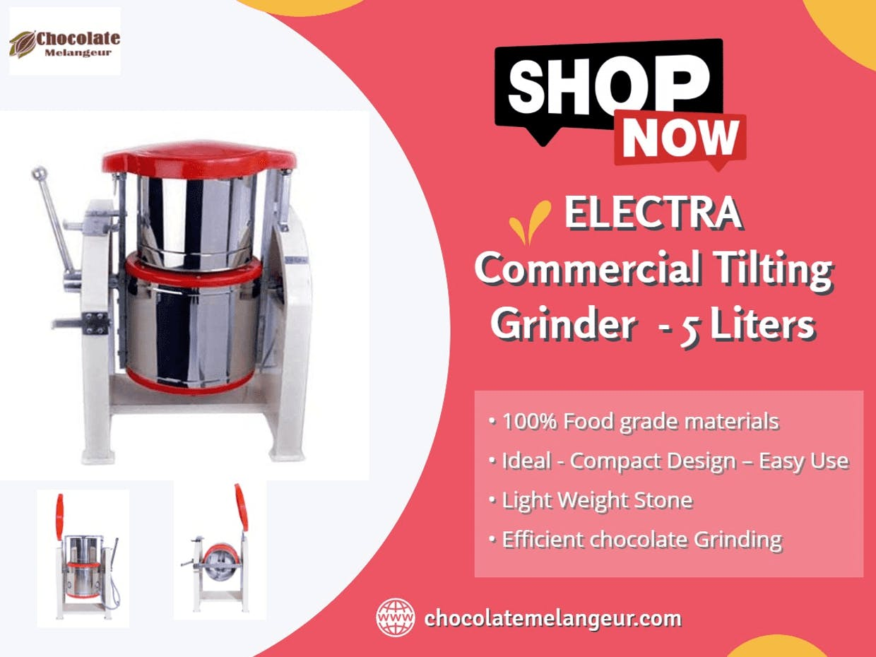 Electra 100 Chocolate Melanger with Controller