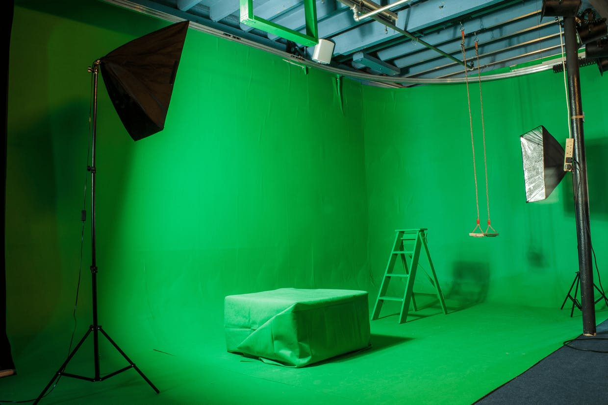 Chroma Key Room