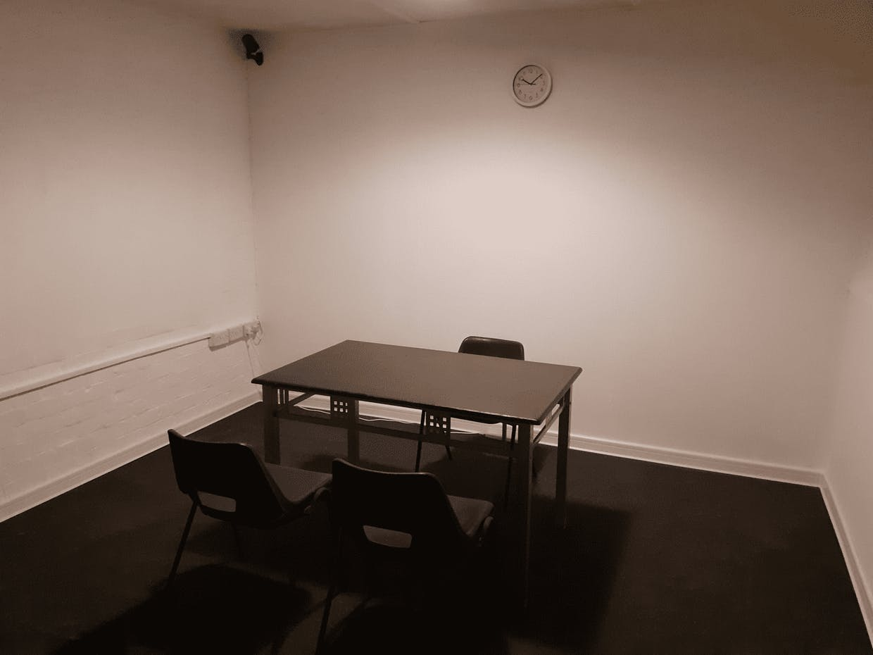 Police Interrogation Room Set