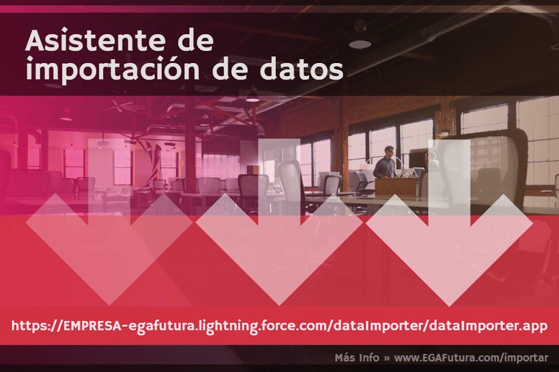 Como hacer una importación de información desde un archivo CSV o Excel a la base de datos del sistema?