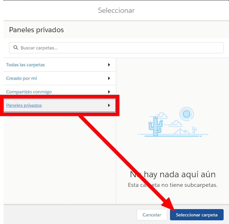 Por que aparece este mensaje de error al querer modificar un Panel de información?: Se han presentado problemas al procesar su solicitud. Vuelva a intentarlo o pida ayuda a su administrador de Salesforce.